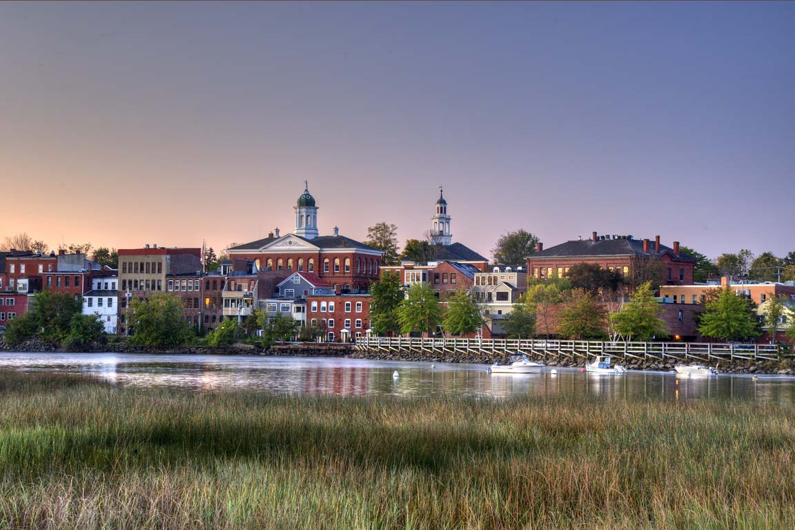 Exeter Waterfront at Dawn